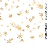 snowflakes. seamless holiday... | Shutterstock .eps vector #1190550010