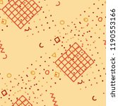 vintage memphis texture.... | Shutterstock .eps vector #1190553166