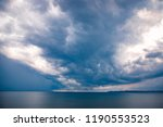 clouds on the coast of odessa | Shutterstock . vector #1190553523