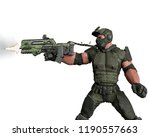 tactical army man cartoon in... | Shutterstock . vector #1190557663
