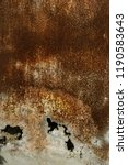 corroded white metal background.... | Shutterstock . vector #1190583643