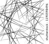 hand drawn doodle geometric... | Shutterstock .eps vector #1190598496