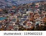 favelas in latin america   Shutterstock . vector #1190602213