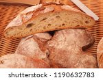 country bread in the market | Shutterstock . vector #1190632783