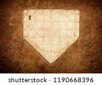 Close Up Of Home Plate On...