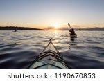 Girl Sea Kayaking During A...