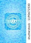 blizzard realistic light blue...   Shutterstock .eps vector #1190672530