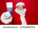 holly jolly night coming  lets... | Shutterstock . vector #1190680036