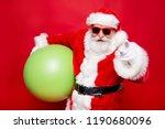 holly jolly merry x mas... | Shutterstock . vector #1190680096