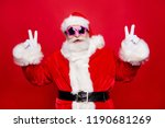 cheerful positive funky aged... | Shutterstock . vector #1190681269