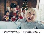 mad funny funky granny grandma. ... | Shutterstock . vector #1190688529