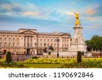 Buckingham Palace In London  Uk