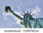 Lady Liberty. Unique...