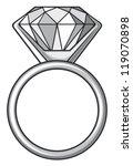 diamond ring (ring with diamond)