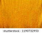 yellow or orange color cloth of ... | Shutterstock . vector #1190732953