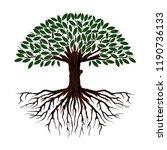 tree of life vector... | Shutterstock .eps vector #1190736133