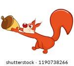 vector illustration of a cute...   Shutterstock .eps vector #1190738266