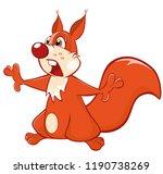 vector illustration of a cute...   Shutterstock .eps vector #1190738269