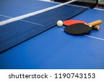 ping pong or table tennis... | Shutterstock . vector #1190743153