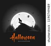 Creepy Halloween Background...