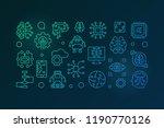 artificial intelligence... | Shutterstock .eps vector #1190770126