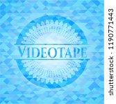 videotape realistic light blue... | Shutterstock .eps vector #1190771443