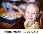portrait of adorable little... | Shutterstock . vector #119077519