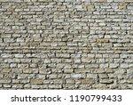a texture of wall | Shutterstock . vector #1190799433