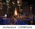 minato ku tokyo japan 2018 jan... | Shutterstock . vector #1190801656