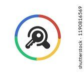 search keywords   app icon | Shutterstock .eps vector #1190816569