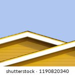 detail of the rooftops of the... | Shutterstock . vector #1190820340