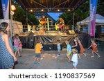 lugano  switzerland   16 july... | Shutterstock . vector #1190837569