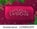vector illustration of greeting ... | Shutterstock .eps vector #1190843359