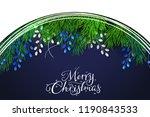 vector illustration of greeting ... | Shutterstock .eps vector #1190843533