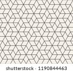 vector seamless geometric... | Shutterstock .eps vector #1190844463