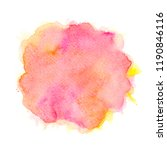 brush shades watercolor.space...   Shutterstock . vector #1190846116
