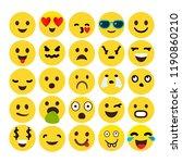 emotion communication chat... | Shutterstock .eps vector #1190860210