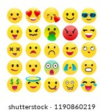 emotion communication chat... | Shutterstock .eps vector #1190860219