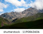 amazing landscape of great... | Shutterstock . vector #1190863606