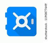 safe icon. google icon. vector...