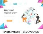 isometric flat vector concept...   Shutterstock .eps vector #1190902939