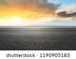 panoramic city skyline and...   Shutterstock . vector #1190905183