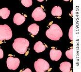 kawaii lovely pink fashion...   Shutterstock .eps vector #1190934910