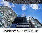 scenic of perspective building... | Shutterstock . vector #1190944639