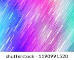 light pink  blue vector... | Shutterstock .eps vector #1190991520