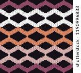 ethnic boho seamless pattern....   Shutterstock .eps vector #1190996833