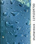 shiny  blue wet surface with... | Shutterstock . vector #1191039700