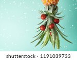 christmas holiday concept with  ... | Shutterstock . vector #1191039733
