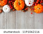 Autumn Top Border Of Orange And ...