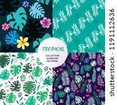 beautiful seamless patterns... | Shutterstock .eps vector #1191112636